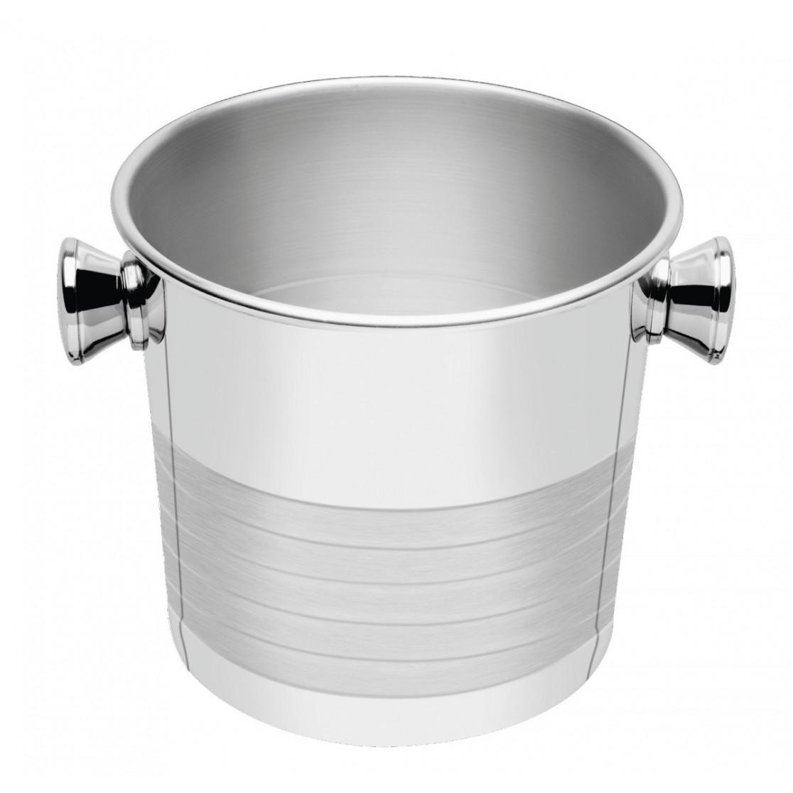Balde Para Gelo 14 cm 1.86 L Aço Inox - Tramontina