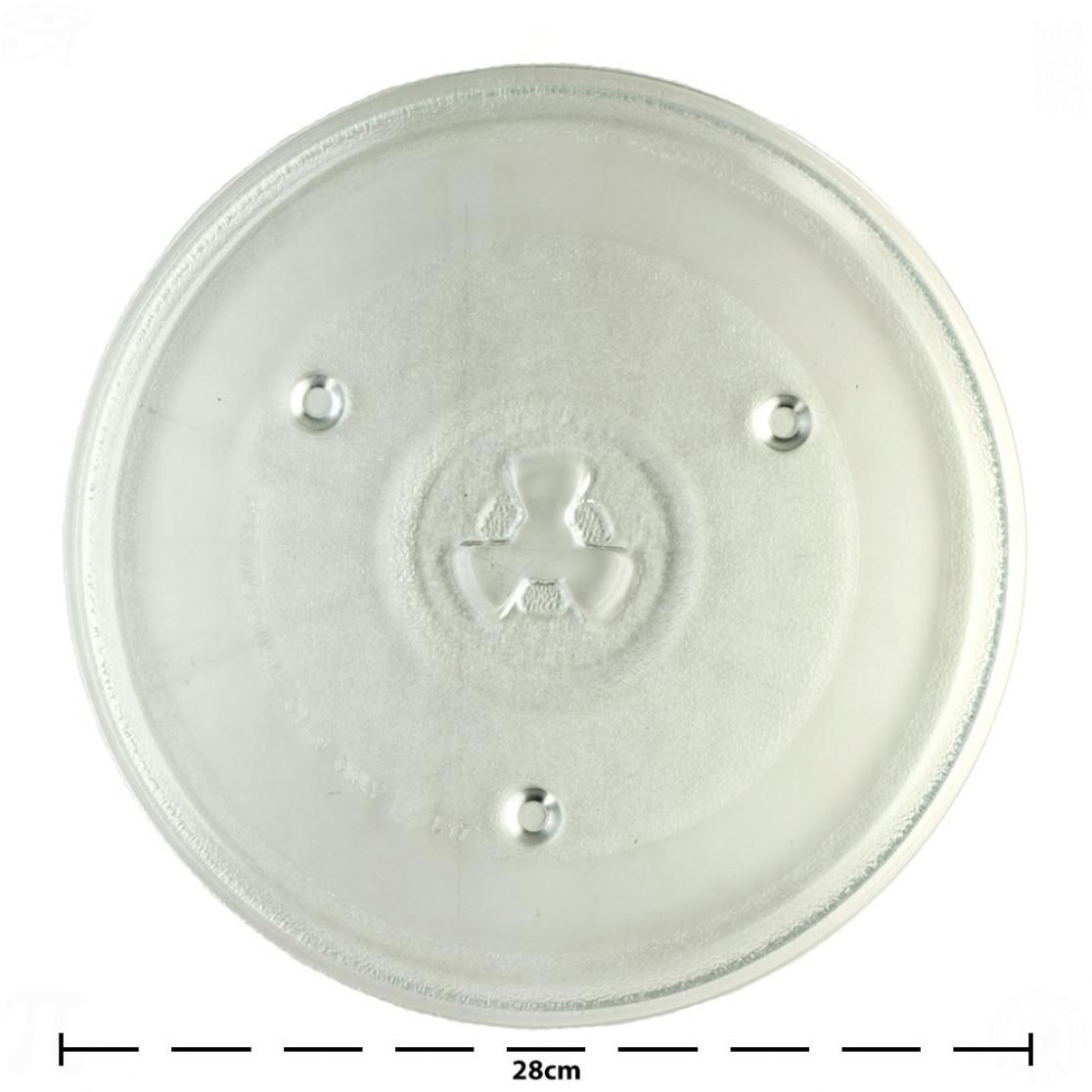 Prato de Micro-ondas 28cm