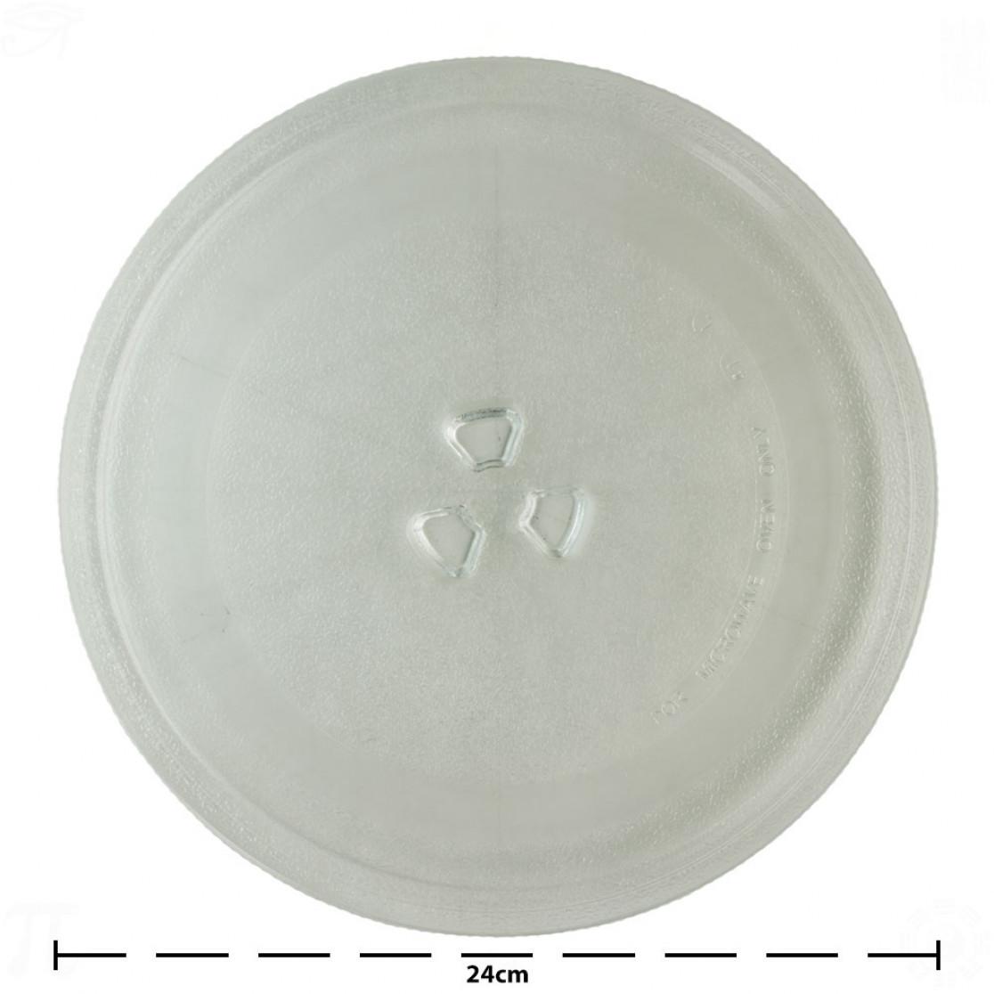 Prato Para Microondas 24cm