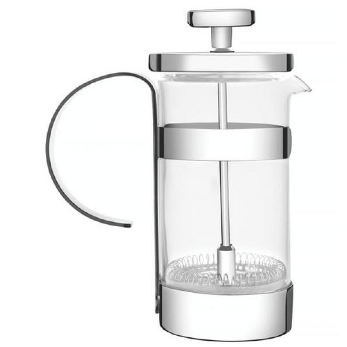 Cafeteira Francesa Vidro Alça Metálica 10cm - Tramontina