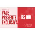 Cartão Presente Voucher R$ 100,00 - Exclusiva Utilidades