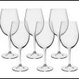 Jogo De Taças De Cristal Bordeaux 580ml Com 6 Unidades - Bohemia
