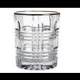Jogo de 6 Copos Liverpool Gold Rim para Whisky - L'Hermitage