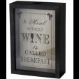 Quadro Porta Rolha de Vinho 18x25cm - Mimo