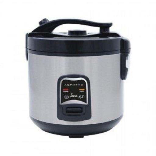 Panela Elétrica Arroz e Legumes Inox 10 Xícaras PAI10X 220V - Agratto