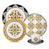 Aparelho De Jantar/Chá Com 20 Peças Floreal São Luís Oxford Porcelanas